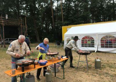 Versorgung bei Waldbrandstufe